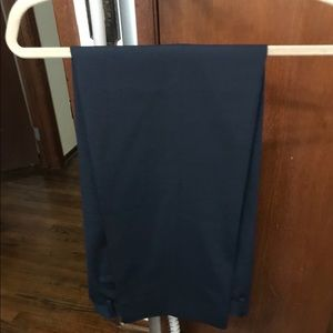 Like new boys dress slacks size 18 navy blue